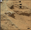 Les conglomérats de Mars